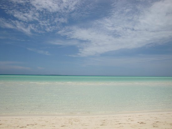 Sol Cayo Guillermo: Superb Beach at Cayo Guillermo