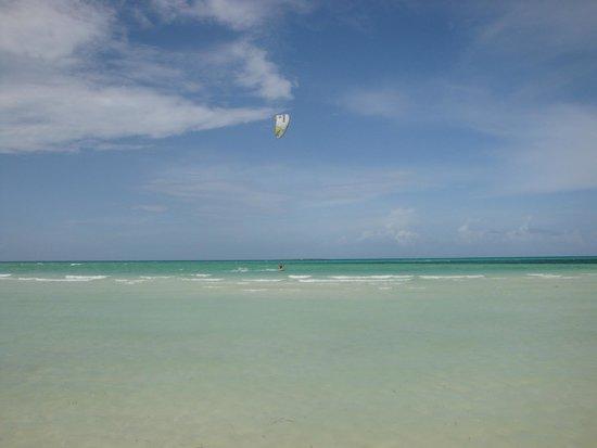 Sol Cayo Guillermo: Kite Surfer