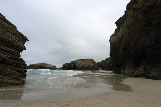 Playa de las Catedrales: Vistas
