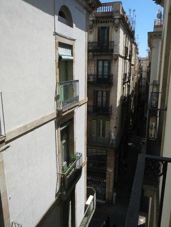 Hotel Adagio: Вид с балкона