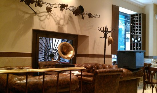 Hotel Adagio: Зона ресепшен-холл