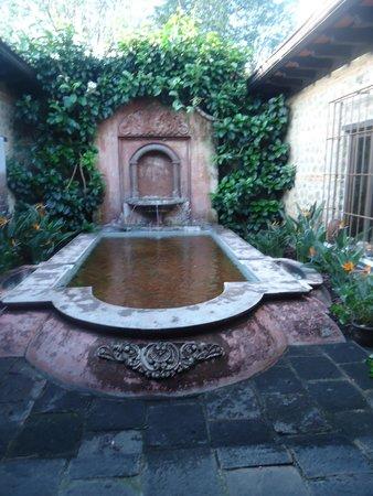 Porta Hotel Antigua: Observando la hermosura