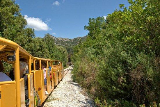 Il Parco Archeominerario di San Silvestro : trenino