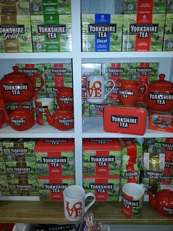 Goathland Tea Room & Gifts: yorkshire tea