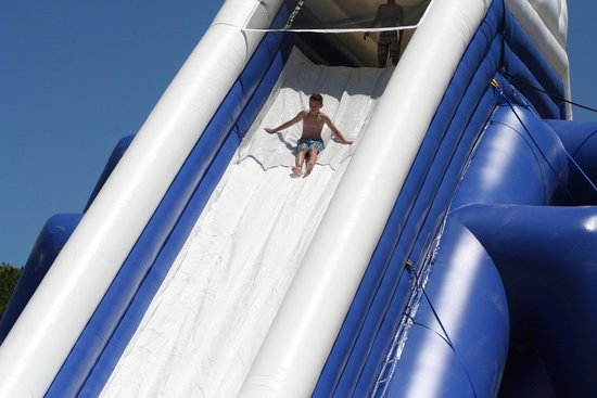 Cape Cod Inflatable Park: Tons of new rides for the 2014 season
