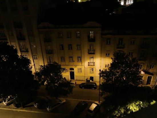 Hotel Principe Lisboa: Sacada do Quarto