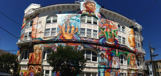 Streets of San Francisco Bike Tours: Mural