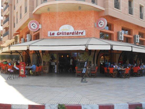 La Grillardière : L'esterno