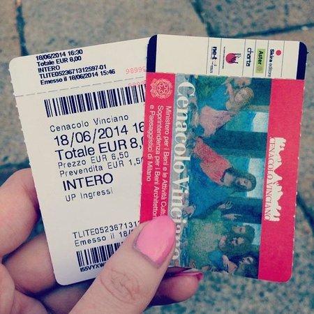 Il Cenacolo: Tickets