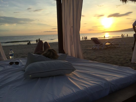 Occidental Nuevo Vallarta: View from one of the private cabanas at sunset
