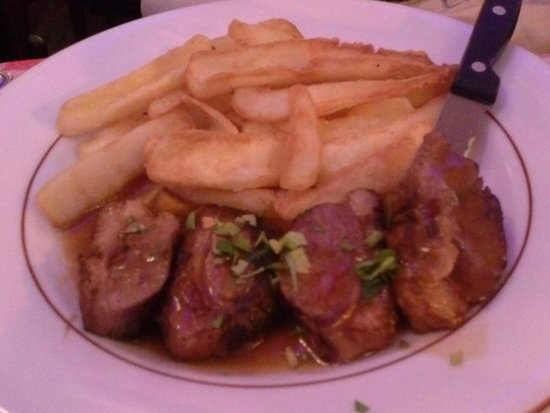 Le Sainsev': Duck Breast with french fried
