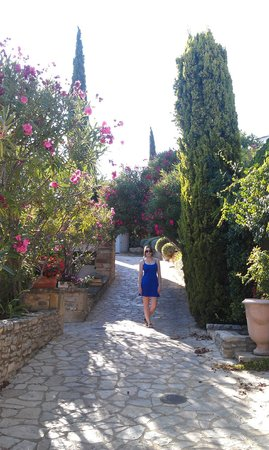 L'Enclos des Lauriers Roses : Beautiful grounds...