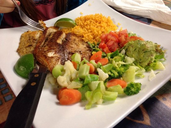 Little Hacienda: Grilled tilapia