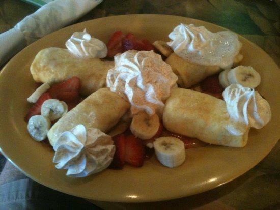 Sweet Sage Cafe : Crepes