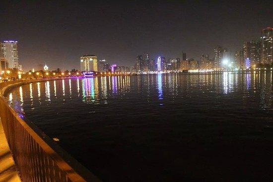 Al Majaz Waterfront: a glimpse