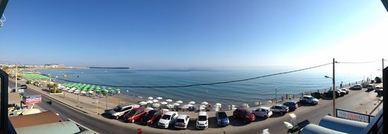 Hotel Medusa : widok z balkonu