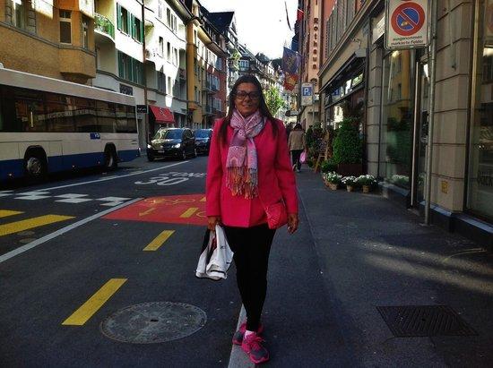 Hotel Rothaus: Na rua do hotel