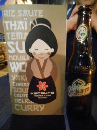 Katsura: Bel menù e buona birra