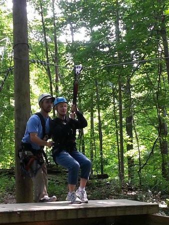Soaring Cliffs Zip Line Course: Exhileratingly FUN !