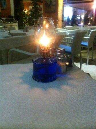 Restaurante La Martina Grill: candlelight