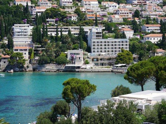 Hotel Uvala : Lapad bay from the Hotel