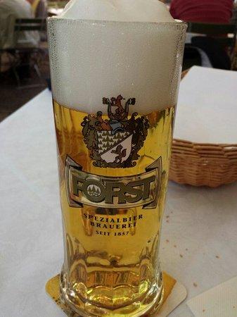 Forsterbräu Meran: Birra