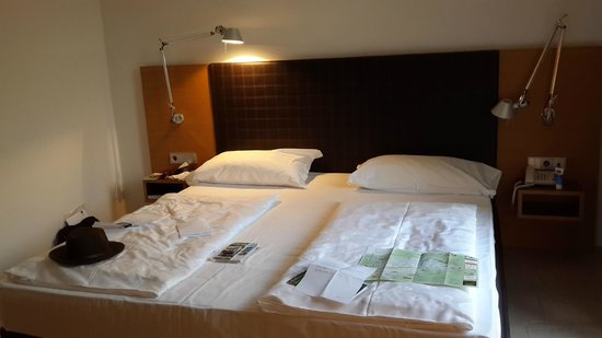 Scala Stiegl Hotel: Very comfortable and roomy bed