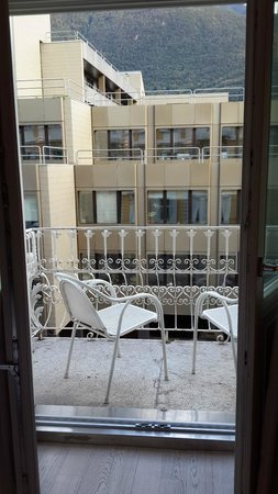 Scala Stiegl Hotel: Small balcony with two chairs