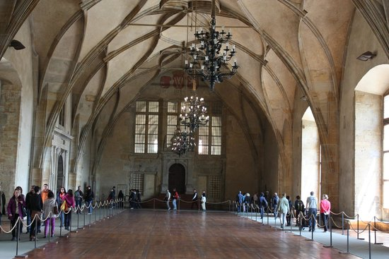 Castle District : View of the Large Hall in the Royal Palace