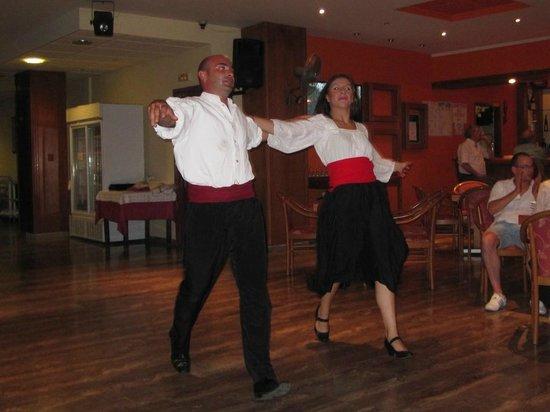 Alkyon Hotel: Greek Night