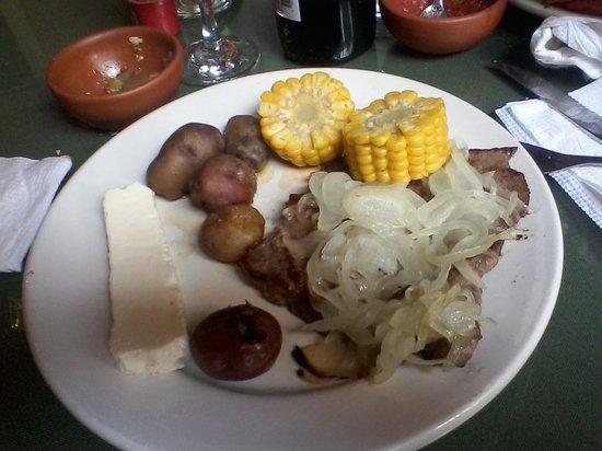 Internacional Jujuy Hotel: Comida tipica