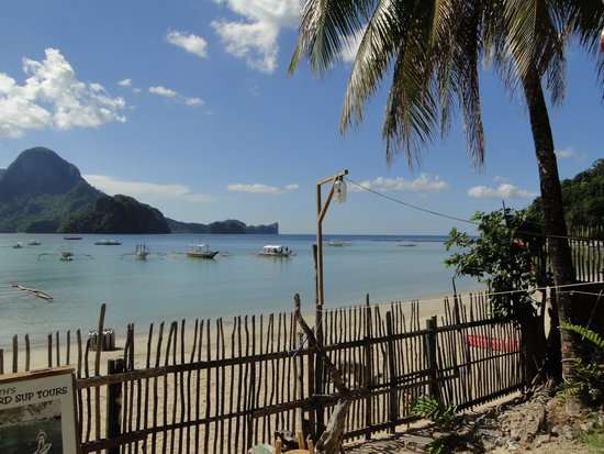 Tandikan Beach Cottages: view from our deck