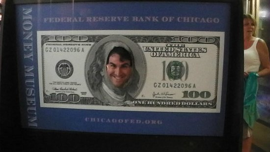 Money Museum at the Federal Reserve Bank: C-note brother