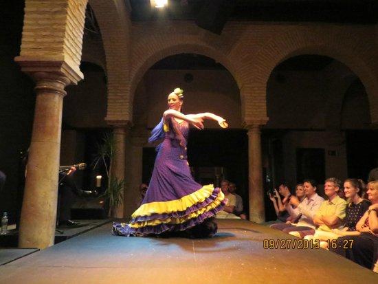 Museo del Baile Flamenco: show de flamenco com bata de cola