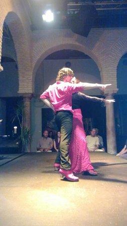 Museo del Baile Flamenco : show com os professores da escola do museu