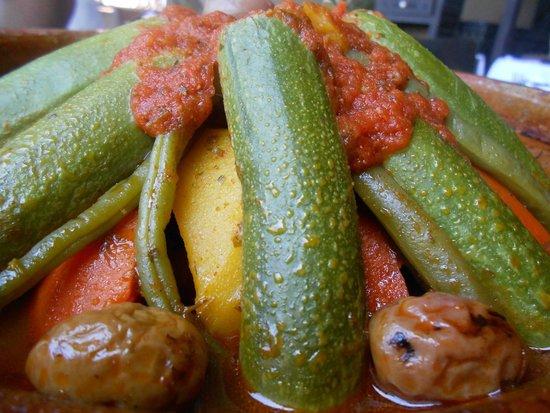 Le Tanjia : La tajin di verdure
