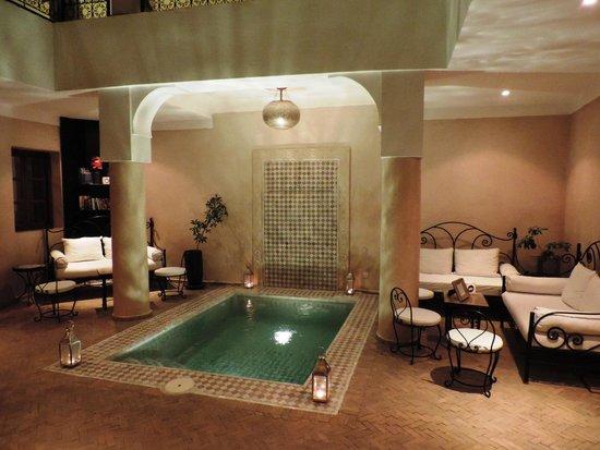 Riad Al Badia: Lobby Patio