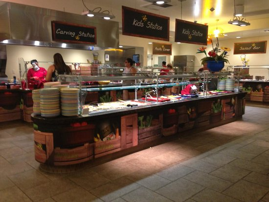 LEGOLAND California Hotel : Children's dinner buffet