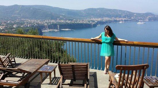 Hotel Mega Mare: Dalla piscina.... *_*