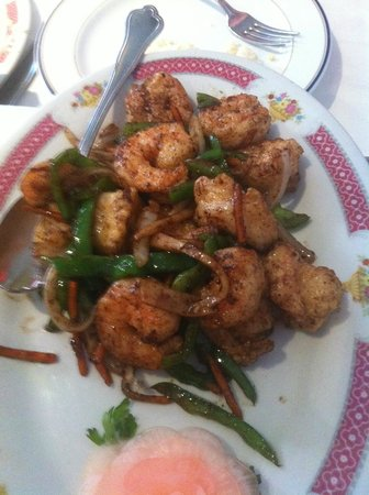 Ying Bing : Salt and Chilli Prawns - absolutely delicious!