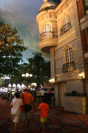 Paris Las Vegas : street of Paris