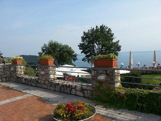 Golf Hotel Ca' Degli Ulivi: terrazza