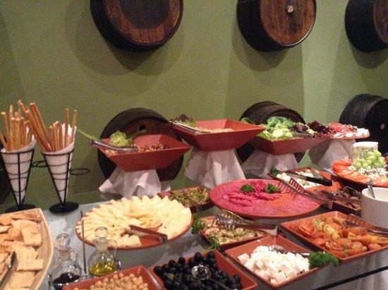 Sheraton Bijao Beach Resort : Delicious food in dinner specialty restaurant