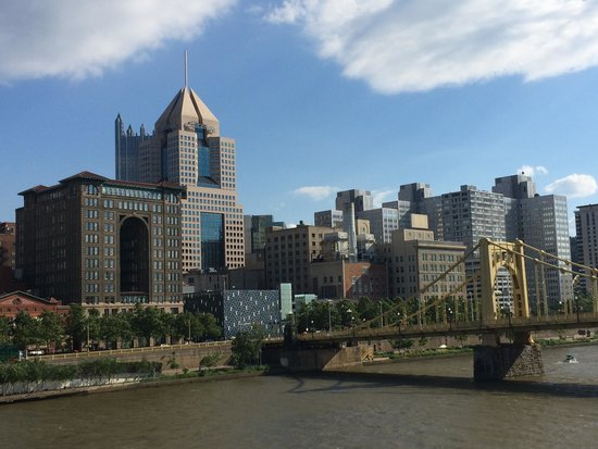 Renaissance Pittsburgh Hotel: View from the Andy Warhol Bridge