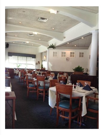 Aegean Restaurant: To the left of our seat