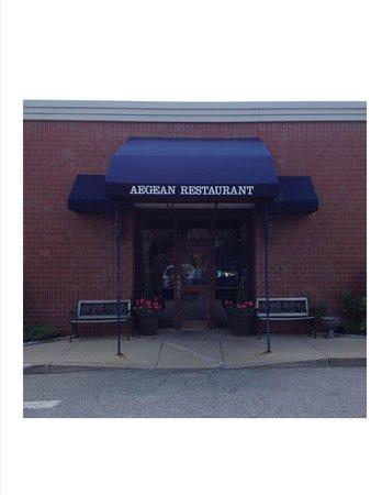 Aegean Restaurant: Entrance