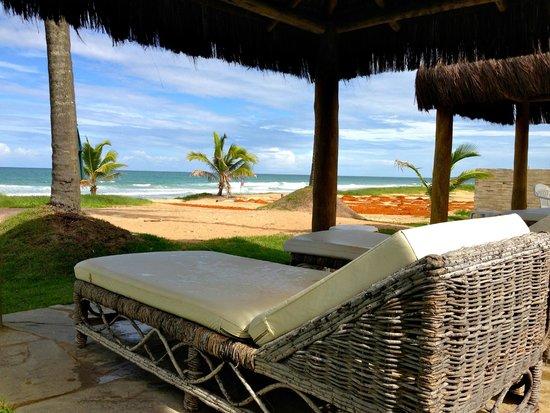 Hotel Viva Porto de Galinhas: Espreguiçadeiras na praia