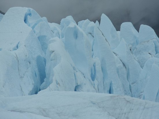 Mica Guides: View of the ice fall