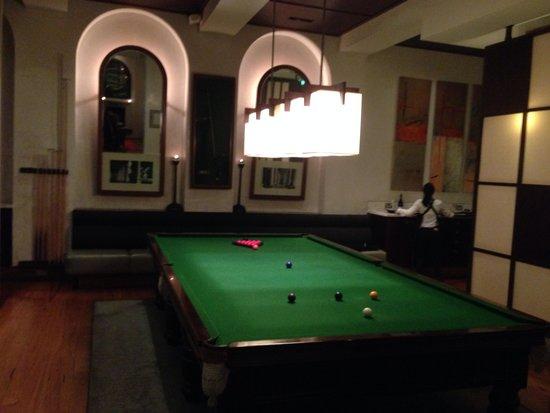 Hotel Lindrum Melbourne - MGallery Collection: Le fameux billard du Lindrum