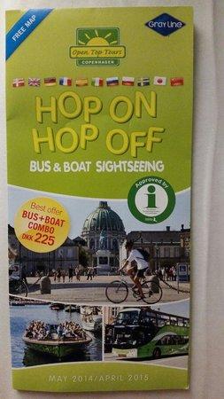 Stromma Canal Tours Copenhagen : Brochure